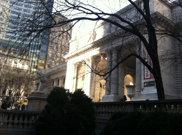 NYC Public Library.  That's my idea of heaven right there...